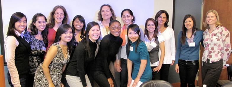 2009 URI Cohort with Mentors Group Photo.