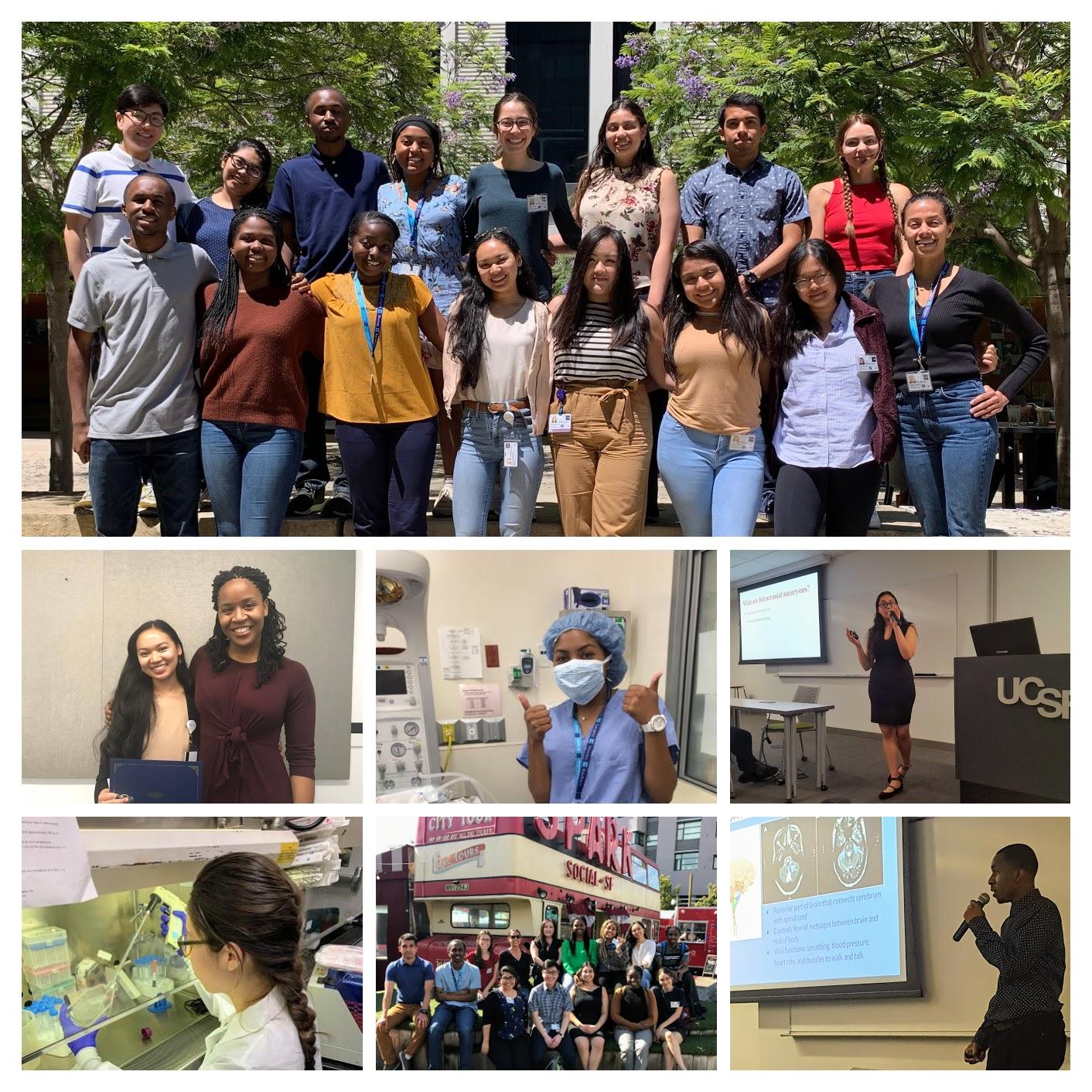 Photos of the 2019 URI Intern Cohort