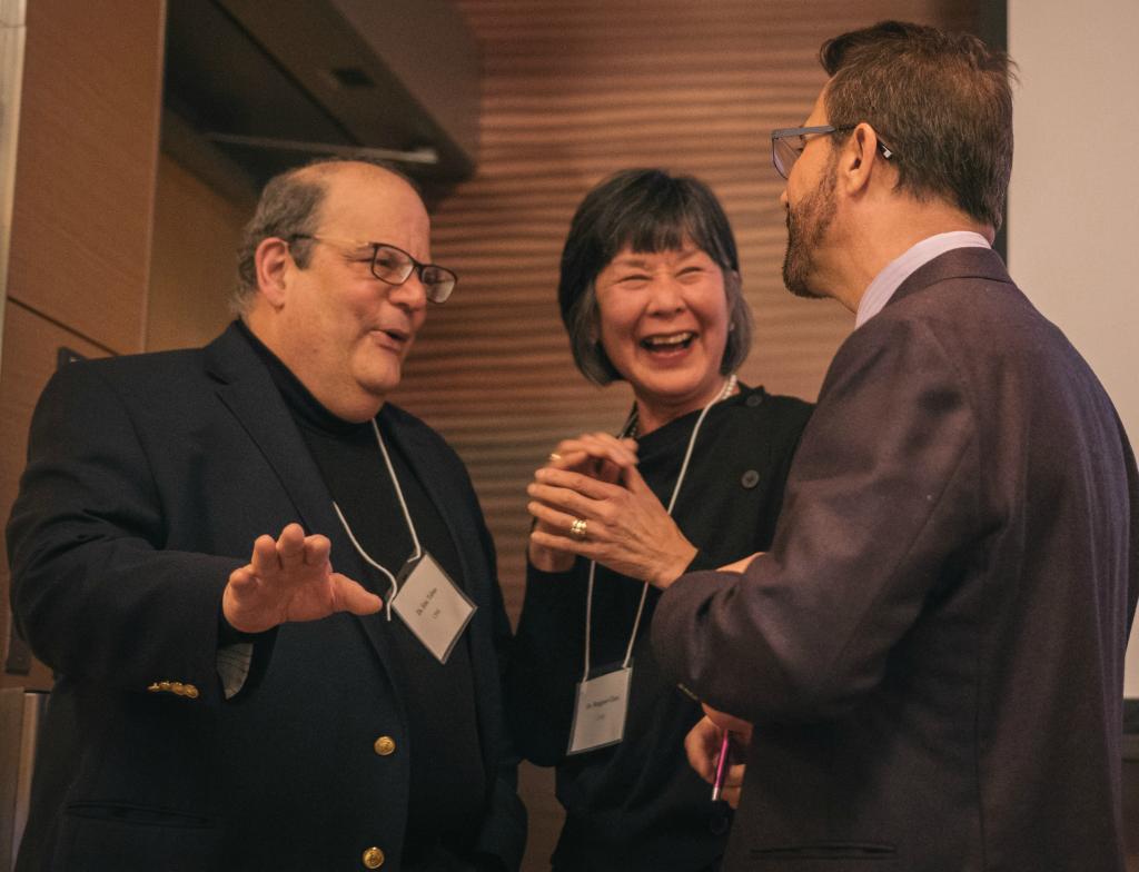 2018 VCF Awardees Margie Chen, Eric Tabas, Jason Dimsdale