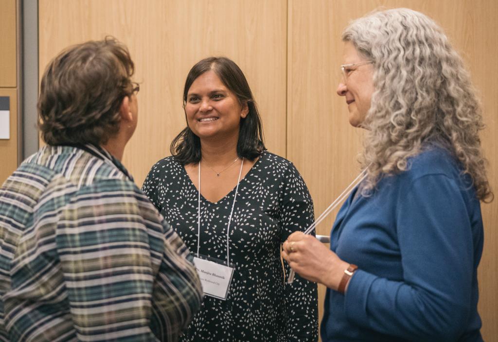 2018 VCF Awardees Manjita Bhaumik, Kathleen Ryan, Michelle Bourgault
