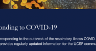 UCSF COVID website graphic